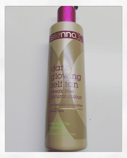 Sienna X Dark Glowing Self Tan