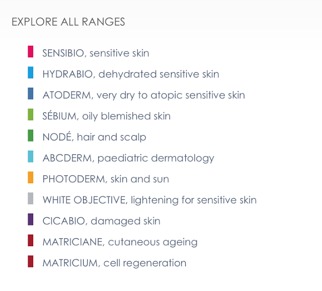 Bioderma ranges